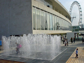 Southbank fountains